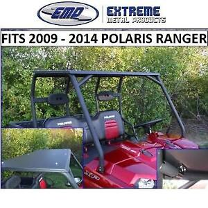 NEW METAL ROOF FOR POLARIS RANGER 10286 213664202 WITH LED LIGHT EXTREME METAL PRODUCTS