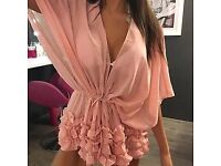 Pink cover up size s=6/8 £7 Pink cover up size m = 8/10