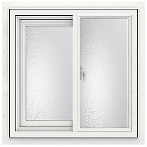JELD-WEN 36-inch x 36-inch 3500 Series Sliding Vinyl Window-OBO