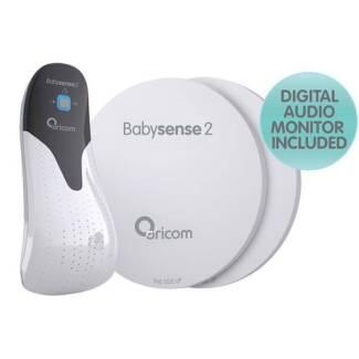 Babysense2 Infant Breathing Movement Monitor + audio monitor set