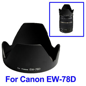 New Replacement Lens Hood for Canon EW-83, ET-60, EW-78 and more