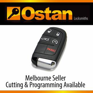 GENUINE Jeep Chrysler Dodge Fiat Complete Smart Key (5 Button) Brighton East Bayside Area Preview