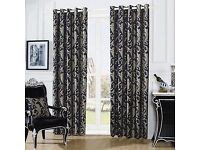 Luxury curtains eyelet for bedroom