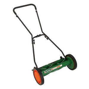 SCOTTS 18 INCH DELUXE PUSH REEL MOWER-NEW