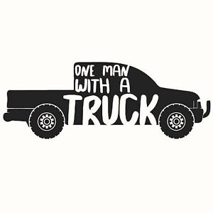 Man with a truck! Anything you need moved? Fast and safe!!!