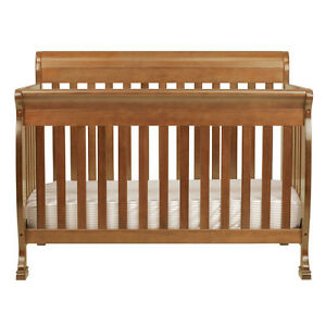 Solid Canadian Maple 4:1 baby crib
