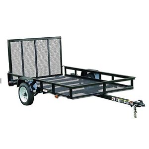 Carry on 5 x 8 utility trailer from Lowe's