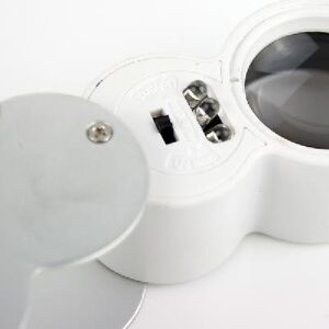 40x-25mm-Glass-Magnifying-Magnifier-Jeweler-Eye-Jewelry-Loupe-Loop-LED