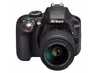 Nikon D3300 18-55mm AF-P VR Kit - Black