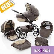 Kinderwagen mit Babywanne