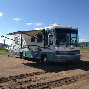 Awesome  MOTORHOME Amp Amp TRAILER  100000 In Regina Saskatchewan For Sale