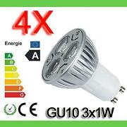 LED GU10 Warmweiss 1W