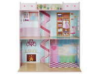 "NEW Sindy 111cm Doll's House for Dolls Under 18"" – Pink from a smoke&pet free house"