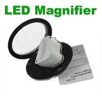 Double Lens 30X & 60X Jewellery Loupe Magnifier with LED Lights