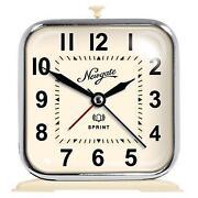 Cream Alarm Clock