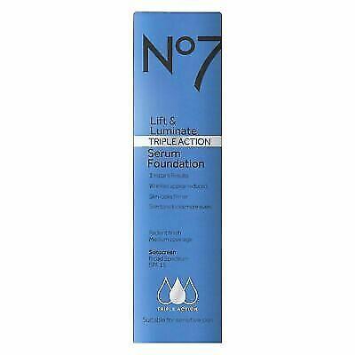 No7 Lift & Luminate Triple Action Serum Foundation SPF 15 Fair Shades - (Lift Sunglasses)
