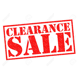 Clearance parts -- Huge savings!