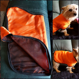 Dog jackets. Shower proof or for warmth
