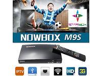 ★NOWBOX M9S★NEW 2017★NOWBOX M9S / REPLACES OPENBOX SAT Receiver HD TV Digital PVR Freesat