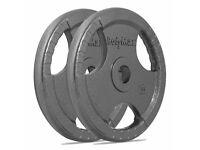 "BodyMax 2"" Olympic Cast Iron Tri Grip Weight Plates 80kg"