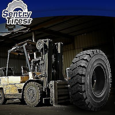 7.00-12 & 6.00-9 Sentry Tire Solid Forklift Tires DISCOUNT SET (4 TIRES)