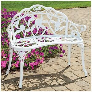 WANTED cast iron garden bench