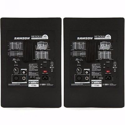 pair of samson resolv a6 active studio reference monitor speakers in twickenham london gumtree. Black Bedroom Furniture Sets. Home Design Ideas