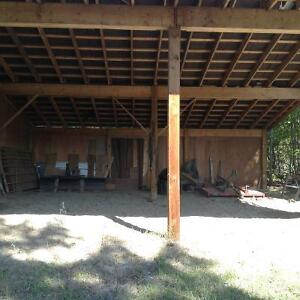 Covered & Outdoor storage for boats, Rv's on private acreage