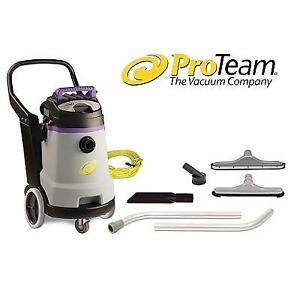 NEW PROTEAM COMMERCIAL VACUUM 107130 144631861 15 GALLON CLEANER WET DRY WITH TOOL KIT