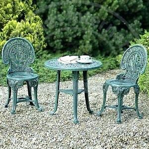 Vintage Style 3 Pc. Bistro Set for Outdoor