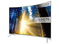 "BRAND NEW LATEST SAMSUNG UE49KS7500 Smart 4k Ultra HD HDR 49"" Curved LED TV, 2016"
