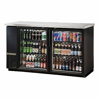True Tbb-24-60g-hc-ld 61 Refrigerated Back Bar Cabinet