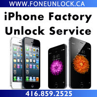 Factory Unlock iPhone 6S - iPhone 6 - iPhone 5S - iPhone 5