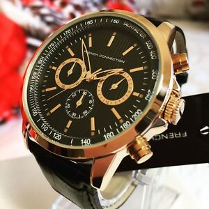 Brand New French Connection Chrono Rose Gold/Black Watch (NEGOTIABLE) Maroubra Eastern Suburbs Preview