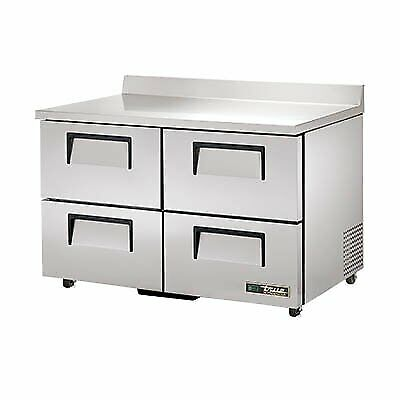 True Twt-48d-4-ada-hc 48 Work Top Refrigerated Counter
