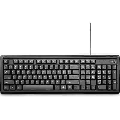 HP Keyboard 100 | Black | 2UN30AA#ABL