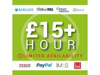 Earn £15+ Hour In Your Spare Time - Cleaner, Live-out, Warehouse, Delivery driver, Bricklayers