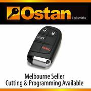 GENUINE Jeep Chrysler Dodge Fiat Complete Smart Key (4 Button) Brighton East Bayside Area Preview