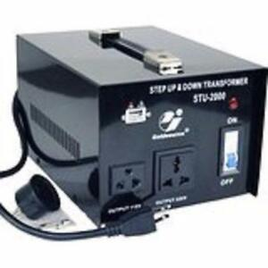 VOLTAGE CONVERTER / VOLTAGE TRANSFORMER) 220V-110V / 110-220V STEP UP STEP DOWN 200WATT FOR $19.99