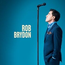 2 tickets for Rob Brydon on Wed 27th Sep. at Plymouth Pavilions.