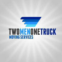 TWO MEN ONE TRUCK MOVING SERVICES