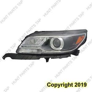 Headlight Driver Side HID 2St Design Without Log High Quality Chevrolet Malibu 2013-2015