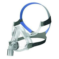 ~NEW~ CPAP RESMED AIRFIT F10 FULL FACE MASK (LARGE, BLUE)