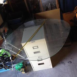 """41.5""""  Thick Glass Table Top / Cover"""