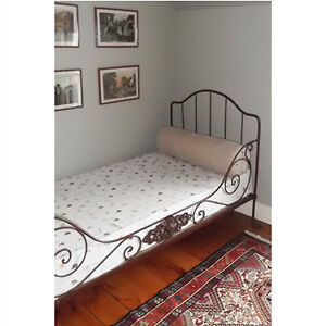 19th Century French Iron Campaign Day Bed