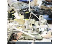 Experienced Industrial Sewing Machinist Required