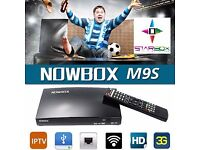 OPENBOX V 8 S / M9S HD TV SAT + IPTV RECEIVER BOX - ☆£70/12MTHS- COLLECTION ONLY ☆