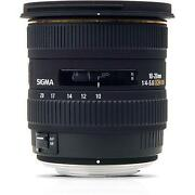 Sigma 10-20MM Nikon