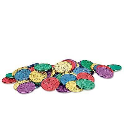 """Plastic Coins - 1.5"""""""