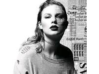 Taylor Swift feat Camila Cabello & Charli XCX (2 x seated tickets worth £240)
